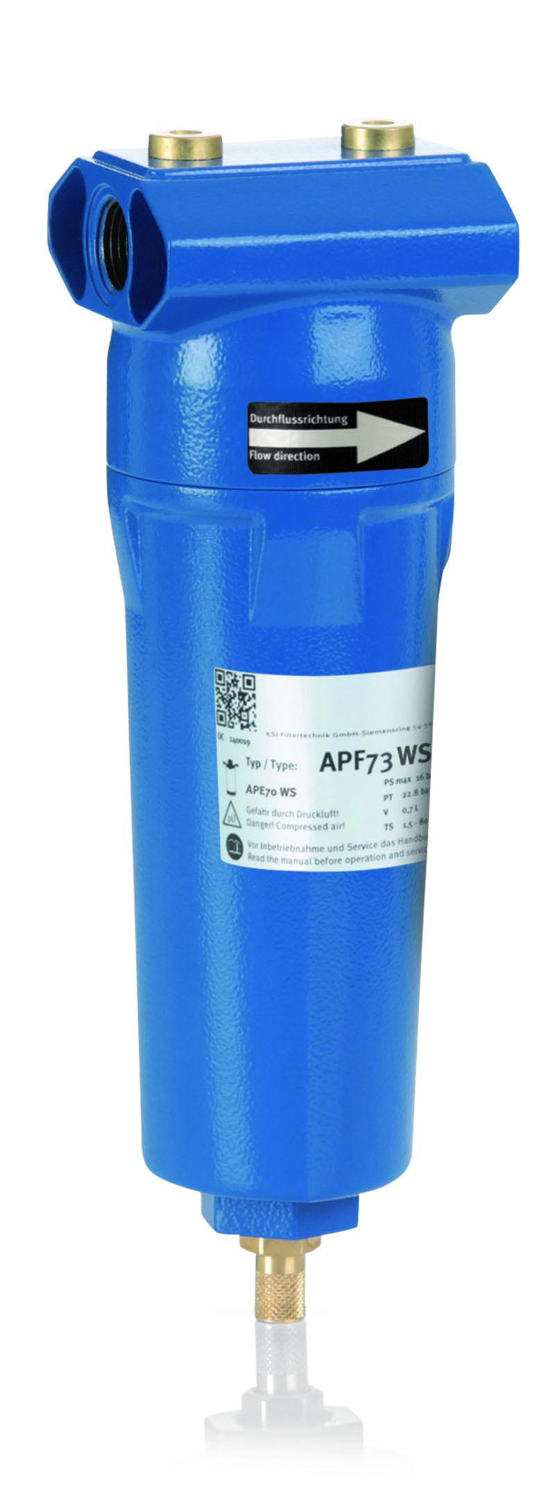 KSI Filtertechnik Water separators Threaded connection