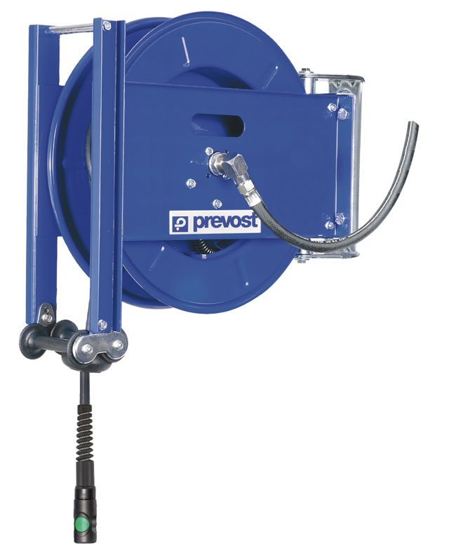 Prevost DMO 0810ES-0820ES hose reel extra resistant hose 10-20 m
