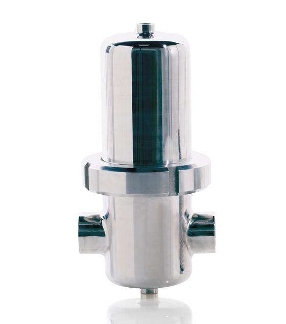KSI Filtertechnik Stainless steel sterile filters