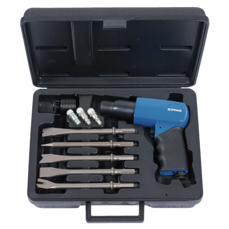 Chisel hammer in case Prevost TAH 0663000K 10,2 mm