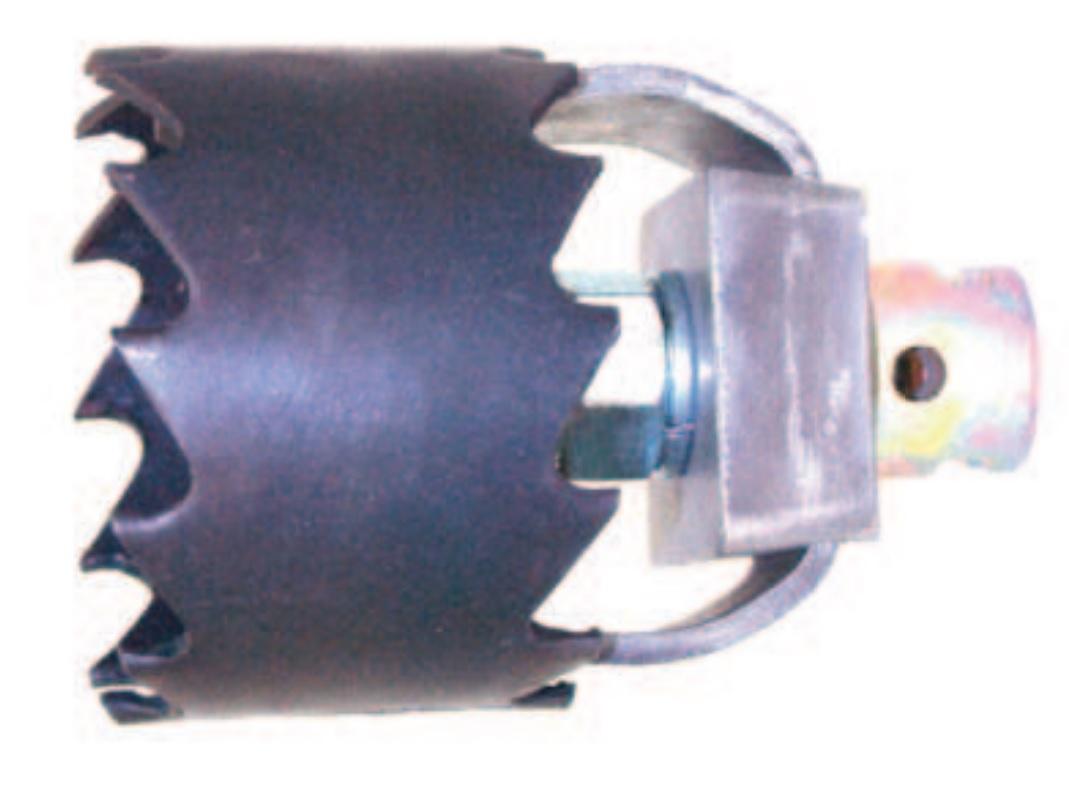 Root cutter 22 - 32 mm, Ø 65 - 150 mm
