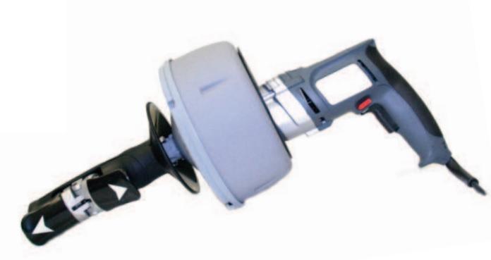 Motor-Hand-rak with 0,5 PS motor for 8 mm spirals