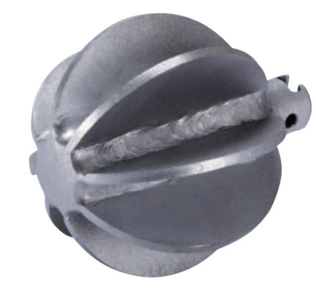 Spherical head cutter 16 - 32 mm, Ø 25 - 115 mm