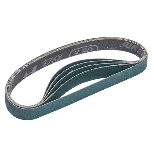 5 belts for air belt sanders 20 x 520 mm Prevost TBS 20520 grit 80-100