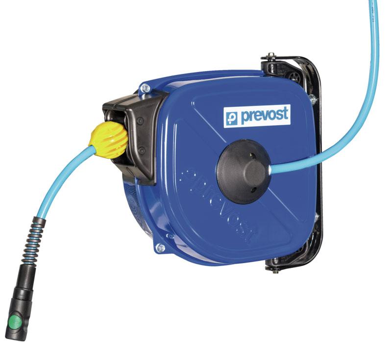 Prevost DRFB 0812ES - 0815ES hose reel with controlled hose retraction