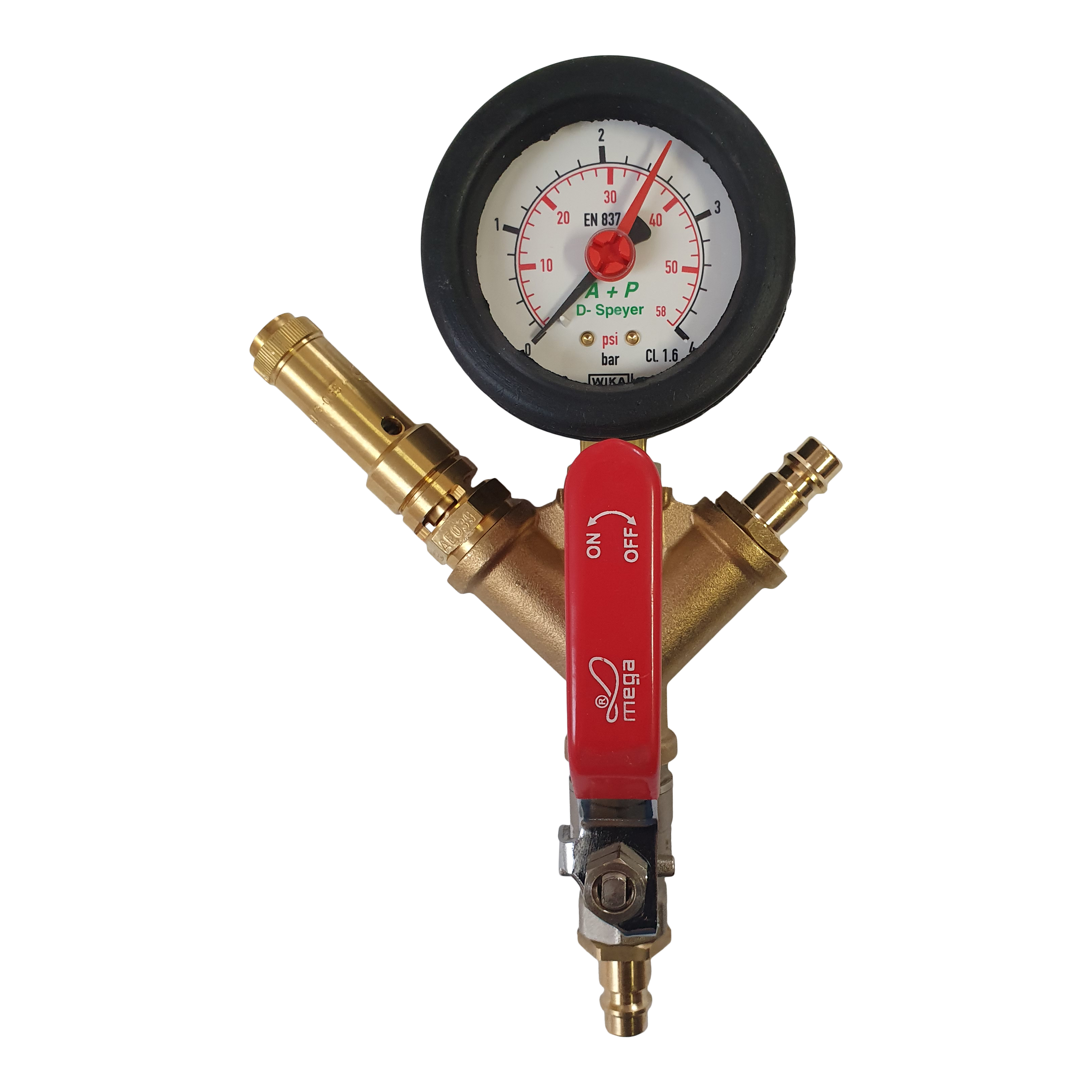 Control unit with safety valve ZP 8 - 12