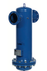 KSI Filtertechnik Water separators with flanged connection