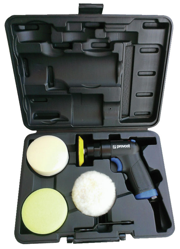 """Air polisher Prevost TPS 2100K 3"""" 75 mm in case with accessories"""