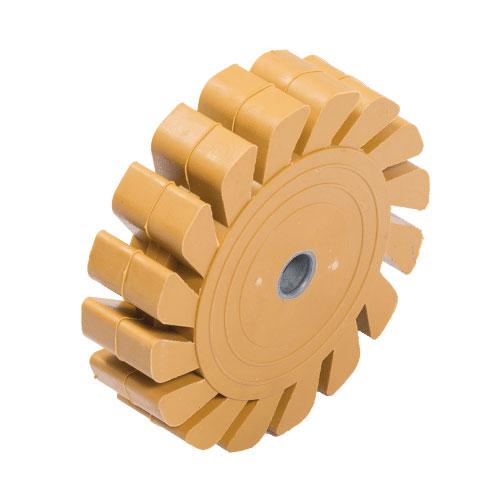 Eraser rubber wheel Prevost TMB KITE Accessories for brushing machine TMB 3500