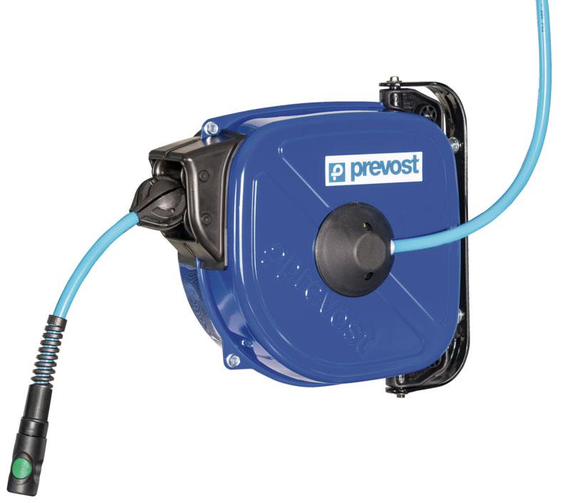 Prevost DRF 0812ES - 0815ES hose reel for compressed air