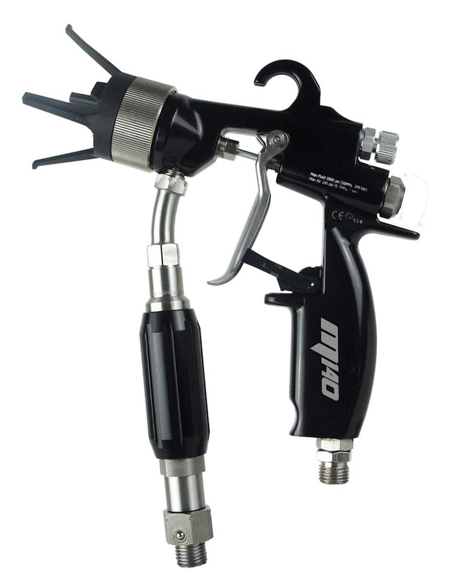 AirCombi ATEX Spray Gun M140-S-L-W-R fitting Wagner