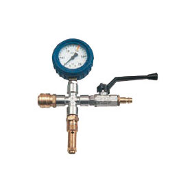 Control unit with safety valve 0.5 - 12 bar