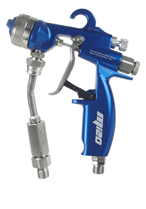 AirCombi ATEX Spray Gun M120-S-L-K fitting Kremlin