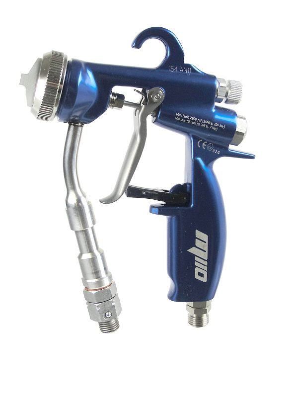 "AirCombi ATEX Spray Gun M110-S-L-H fitting Optima ""hexagon"""