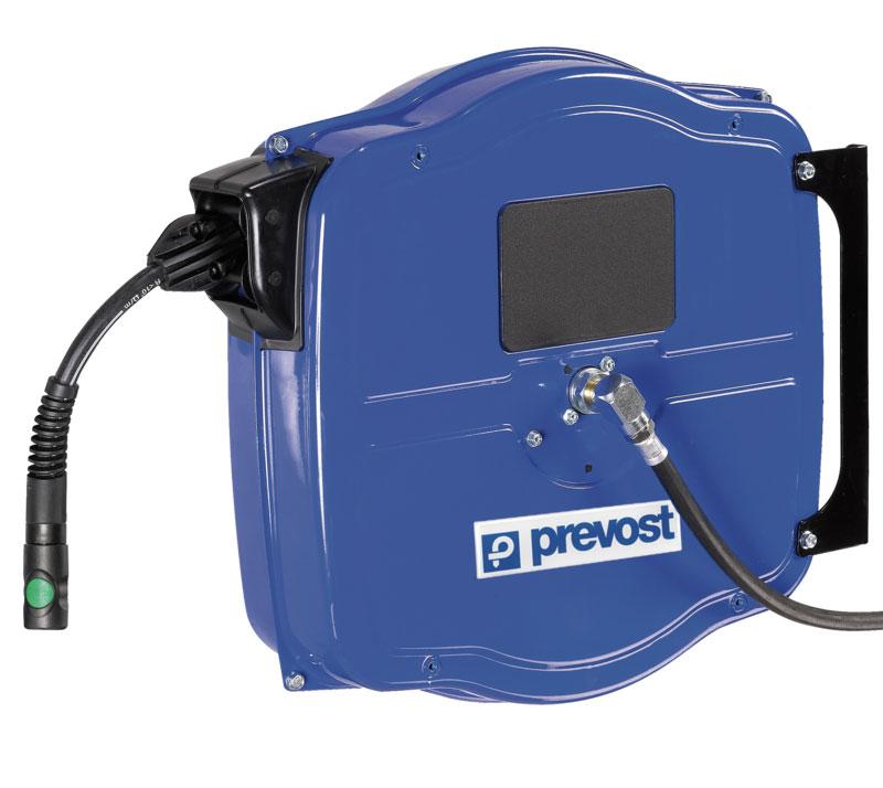 "Prevost DGF 0810ES - 0820ES Hose reel for compressed air G 3/8"" 10 -20 m"