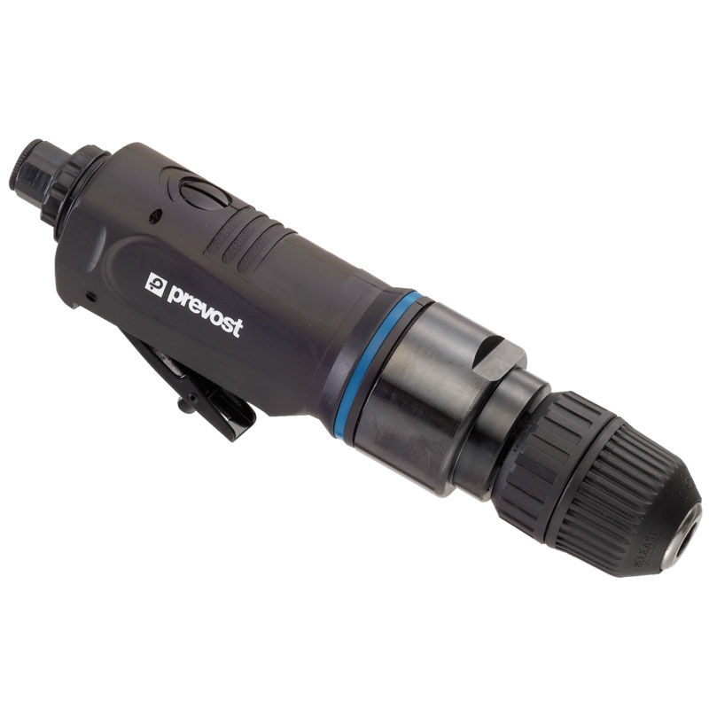 "Straight air drill Prevost TAD S382500 3/8"" drill chuck 10 mm with 2.500 rpm"