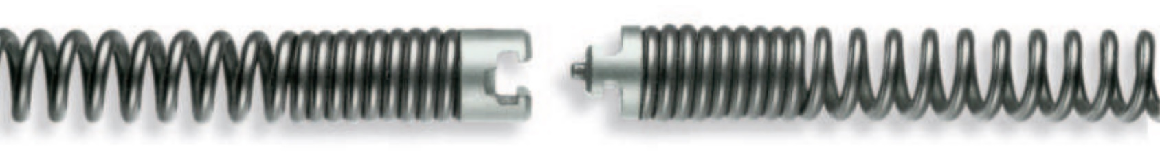 Standard spiral with coupling 16 - 32 mm, up to 4.5 m