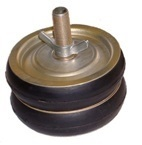Shut-off discs with 2 sealing rings steel DN 40-400