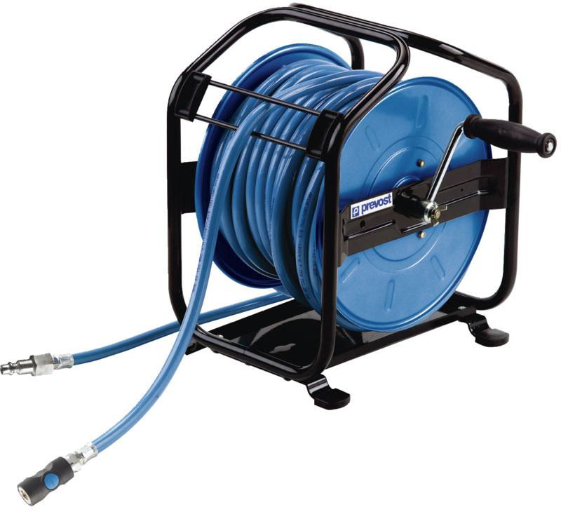 """Prevost DMP 0830ES mobile hose reel G 1/4"""", 30 m"""