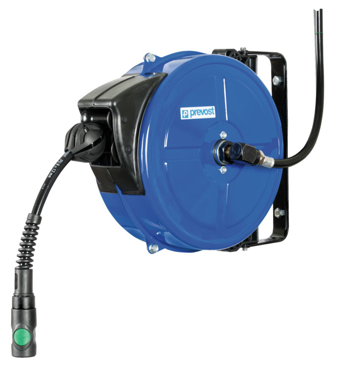 Prevost DMF 0810ES, mobile hose reel 10 m