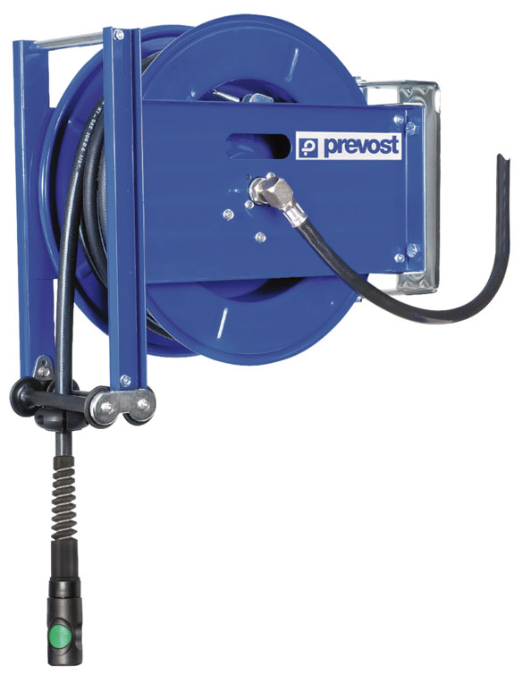 """Prevost DGO 1025ES hose reel for hardest operating conditions, G 3/8"""", 25 m"""
